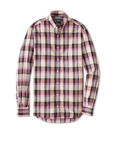 Gitman Vintage Men's Madras Key Shirt