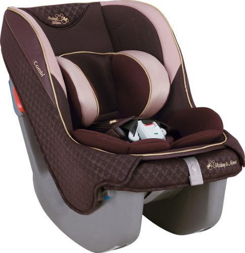Combi Car Seat, Minimalist Grande Egg Shock Mickey Mouse Uc Brown front-868600