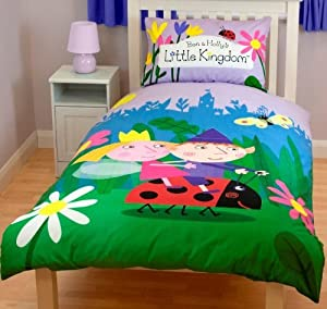 Ben Amp Holly S Little Kingdom Duvet Cover Amp Pillowcase Elves Amazon