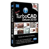 TurboCAD 20 Deluxe 2D CAD Design & 3D Modeling Software for Windows