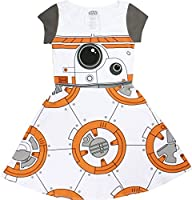 Star Wars I am BB-8 Juniors Cap Sleeved Skater Dress