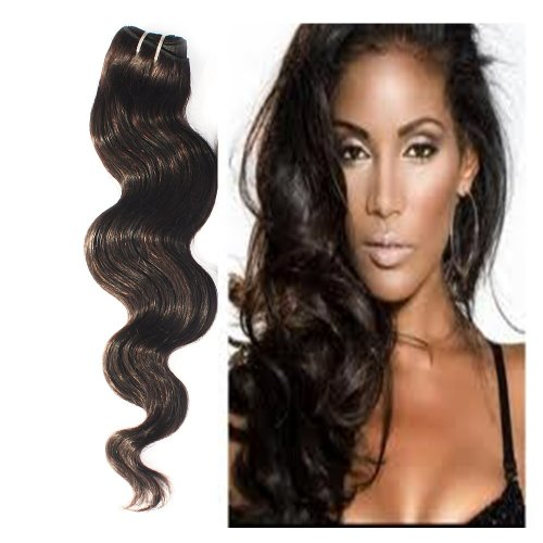 Yesurprise Top Quality 100G Indian Remy Body Wave Curly Real Human Weave Weft Hair Extensions 26""