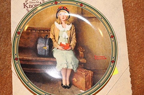A Young Girl's DreamPlate by Norman Rockwell Collector Plate