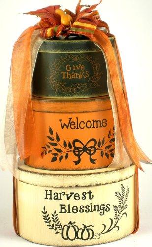 Harvest Blessings: Fall Gift Basket
