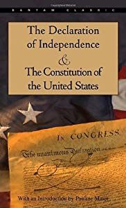 """Cover of """"The Declaration of Independence..."""
