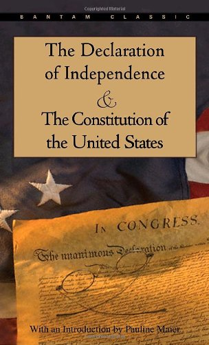 The Declaration of Independence and The Constitution of...