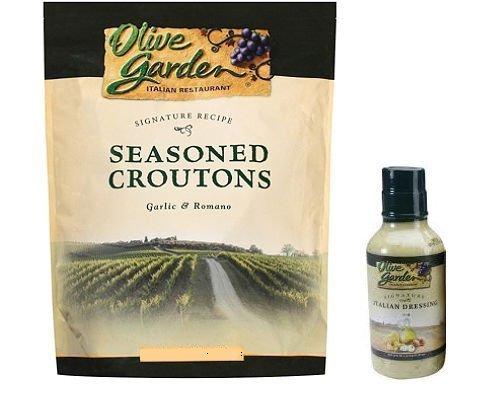 Olive garden dynamic duo signature seasoned croutons Olive garden signature italian dressing