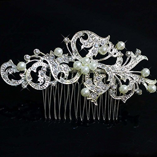 Aukmla Asz Wedding Hair Combs For Women, Bridal Hair Accessories For Girls