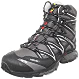 Salomon Men's Wings Sky GTX Fast Light Backpacking Boot,Aluminum/Autobahn/Black,9.5 M US