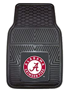 Buy FANMATS NCAA University of Alabama Crimson Tide Vinyl Heavy Duty Vinyl Car Mat by Fanmats