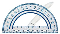 Fiskars Swing Arm Protractor, Color Received May Vary (12-95400J)