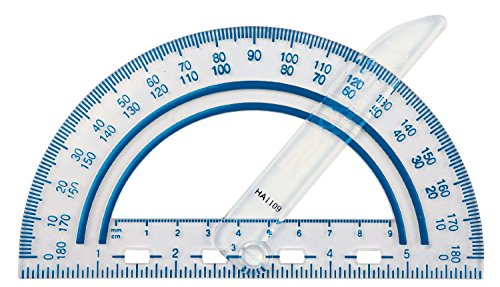 Swinging blade protractor
