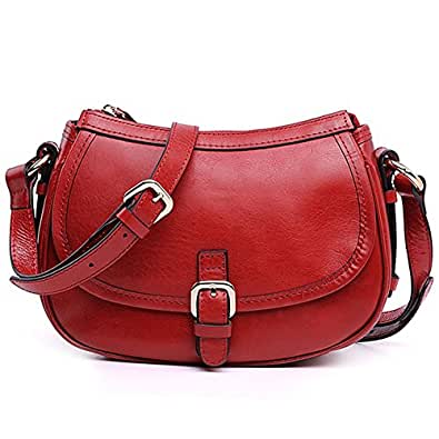 BagVenus New Arrivals High Quality Elegent Cow Leather Lady Cross-Body Shoulder Bags