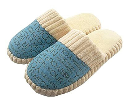 BuyHere Woman's Cotton-padded Home Slippers