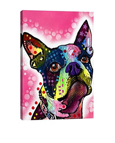 Dean Russo Gallery Boston Terrier Canvas Print