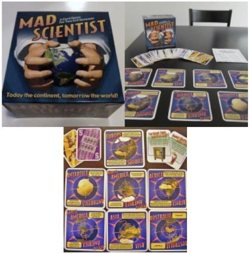 Mad Scientist: A Card Game for Two Evil Geniuses - 1