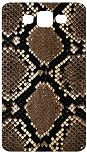 Snake Skin Pattern White Back Cover Case for Samsung Galaxy S3 / SIII / I9300