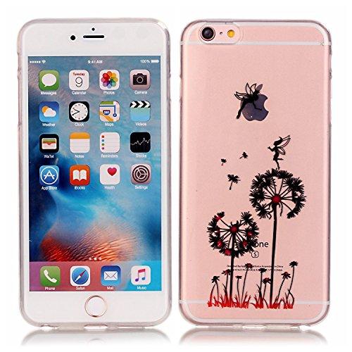 "MIQLT iPhone 6/6s Transparent Coque, slim Bumper en silicone protection en TPU Cristal transparent coque silicone gel pour Apple iPhone 6 6s 4.7"" +"