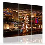 Canvas Picture Las Vegas 3-parts( USA...
