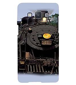 Fuson 3D Printed Designer back case cover for Samsung Galaxy E5 - D4419