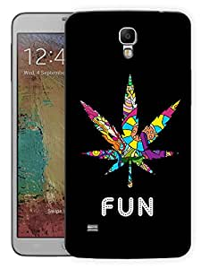 """Humor Gang Grass Is Fun Printed Designer Mobile Back Cover For """"Samsung Galaxy Mega 6.3"""" (3D, Matte, Premium Quality Snap On Case)"""
