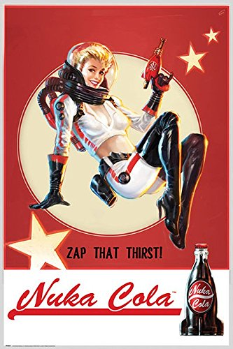 Fallout 4 Poster Nuka Cola Zap that Thirst! (61cm x 91,5cm)