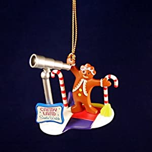 CANDYLAND CLASSIC HASBRO GAME CHRISTMAS COLLECTIBLE ORNAMENT FROM BASIC FUN