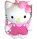 NWT Sanrio Hello Kitty Plush Backpack Pink with Dot (JoyAve)