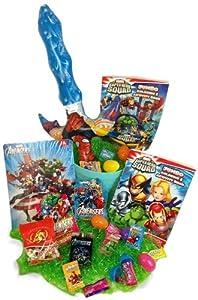 Amazon.com: Boys Avengers & X-men Super Hero Easter Basket - Includes 26 Pieces - Childrens Toys