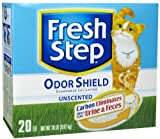 Fresh Step Odor Shield Scoopable Unscented Litter - 20 lb