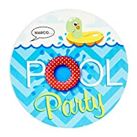 Splashin' Pool Party Invitations (8) by Party Destination