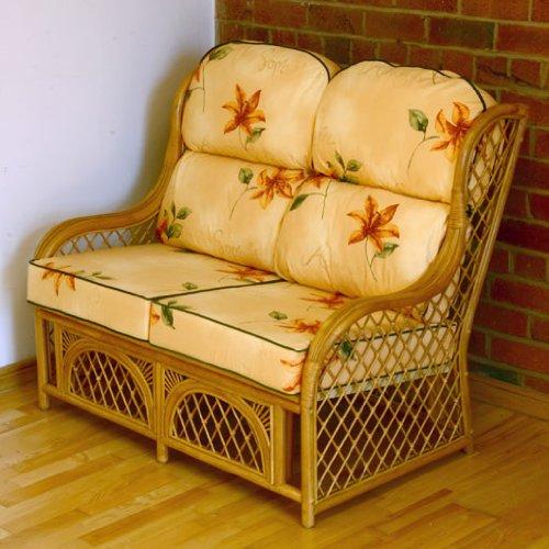 Home & Garden Direct Cadiz Natural 2 Seater Conservatory Sofa