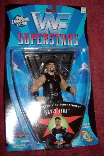 WWF Savio Vega Wrestling Figure WWE WCW - 1