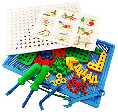 Cat Construction Toys For Boys With Drill : Construction building toys tool kit by skoolzy complete