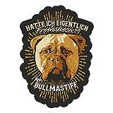 Aufkleber Wetterfest Bullmastiff 13cm oder 40cm Dogs Begleithunde Schutzhund