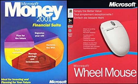 Money 2001 Financial Suite & FREE Wheel Mouse
