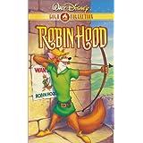 Robin Hood (Disney) [VHS] ~ Brian Bedford