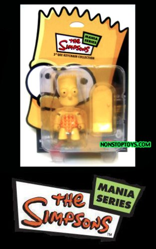 Bart Simpson Qee Figure Mania Series Sick Skater Trick Bart by Toy2R