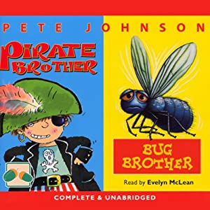 Bug Brother and Pirate Brother Audiobook