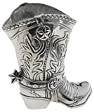 Arthur Court Cowboy Boot 1-1/2 Quart Pitcher/Wine Bottle Holder