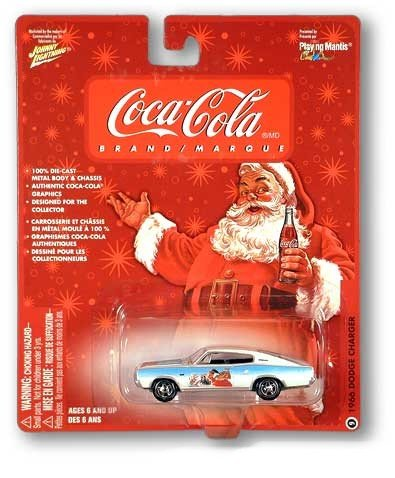 Coke Coca-Cola Santa & Polar Bears Collectable Johnny Lightning Car 1966 Dodge Charger #9 - Buy Coke Coca-Cola Santa & Polar Bears Collectable Johnny Lightning Car 1966 Dodge Charger #9 - Purchase Coke Coca-Cola Santa & Polar Bears Collectable Johnny Lightning Car 1966 Dodge Charger #9 (Coca-Cola, Toys & Games,Categories,Hobbies,Die-Cast)