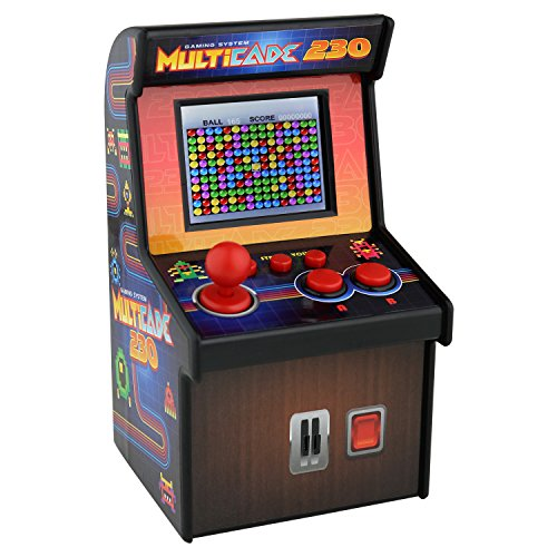 SoundLogic XT Multicade 230 Miniature Retro Arcade Video Game Machine (Video Games For Adults)