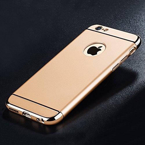 iPhone-6s-CustodiaAURSEN-Apple-iPhone-66s-Case-Custodia-47-Bumper-Cover-protezione-in-vetro-temperato-per-Apple-iPhone-66s-Oro