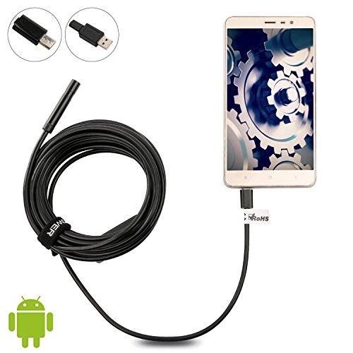 DBPOWER-Android-Smartphone-7MM-3M-Endoskop-Digitales-Endoskop-verwendbar-mit-Ihrem-Mobiltelefon-3-Meter-Kabellnge-mit-einer-Auflsung