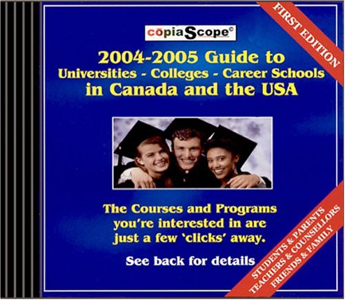 The 2005-2006 Guide To Universities Colleges Career Sch