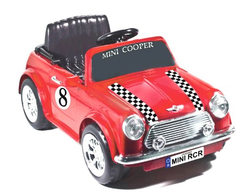 National Products 6V Racing Mini Cooper Ride-on (Red)