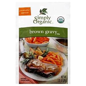 Simply Organic Organic Brown Gravy ( 24x1 OZ)