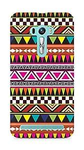 Amez designer printed 3d premium high quality back case cover for Asus Zenfone Selfie (Pattern 13)