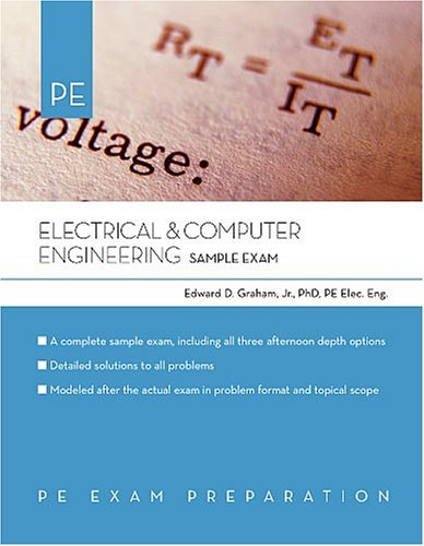 Electrical And Computer Engineering: Sample Exam (Pe Exam Preparation)