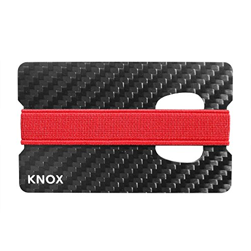 Knox Carbon Fiber Money Clip Wallet for Men, Card Holder With Bottle Opener (Money Clip And Bottle Opener compare prices)